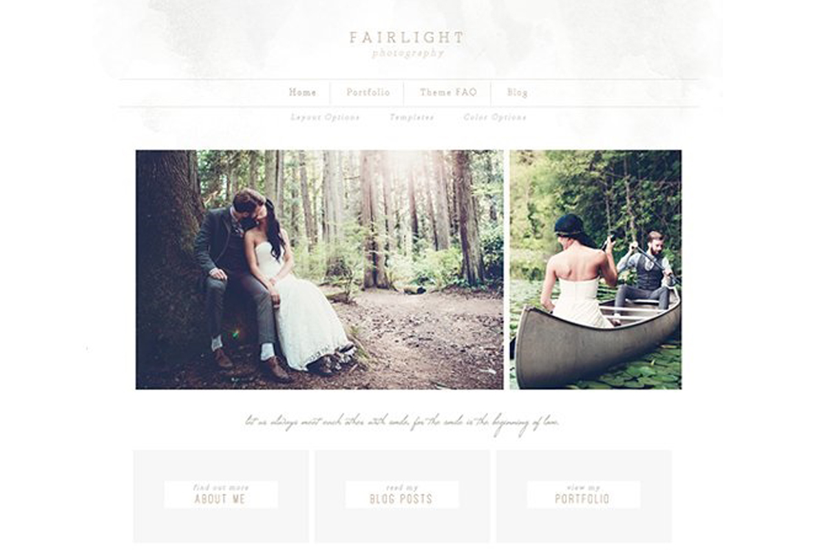 50 Feminine WordPress Themes for Photographers