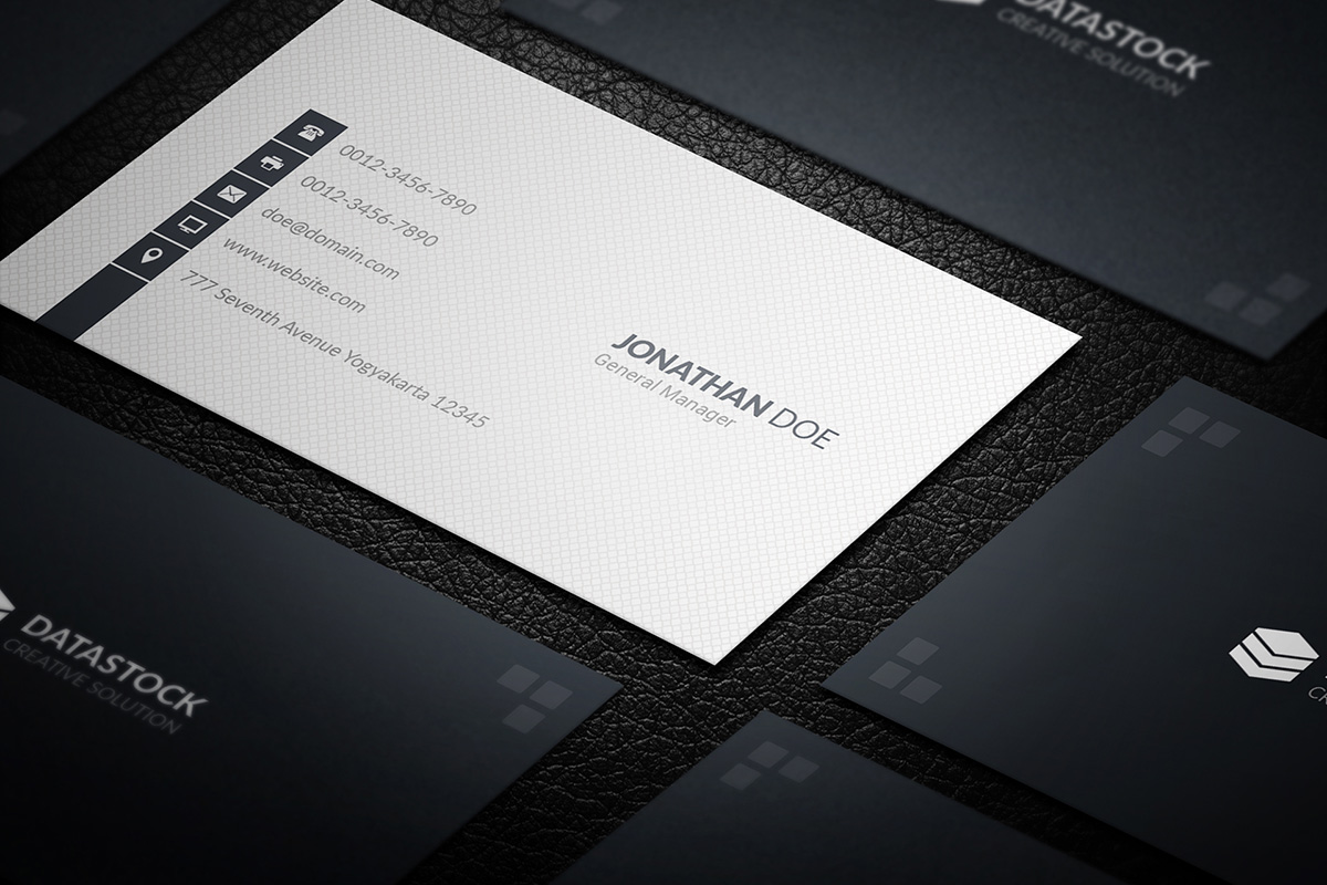 170+ Free Business Cards PSD Templates