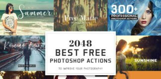 2048 Free Photoshop Actions to Improve Your Photography