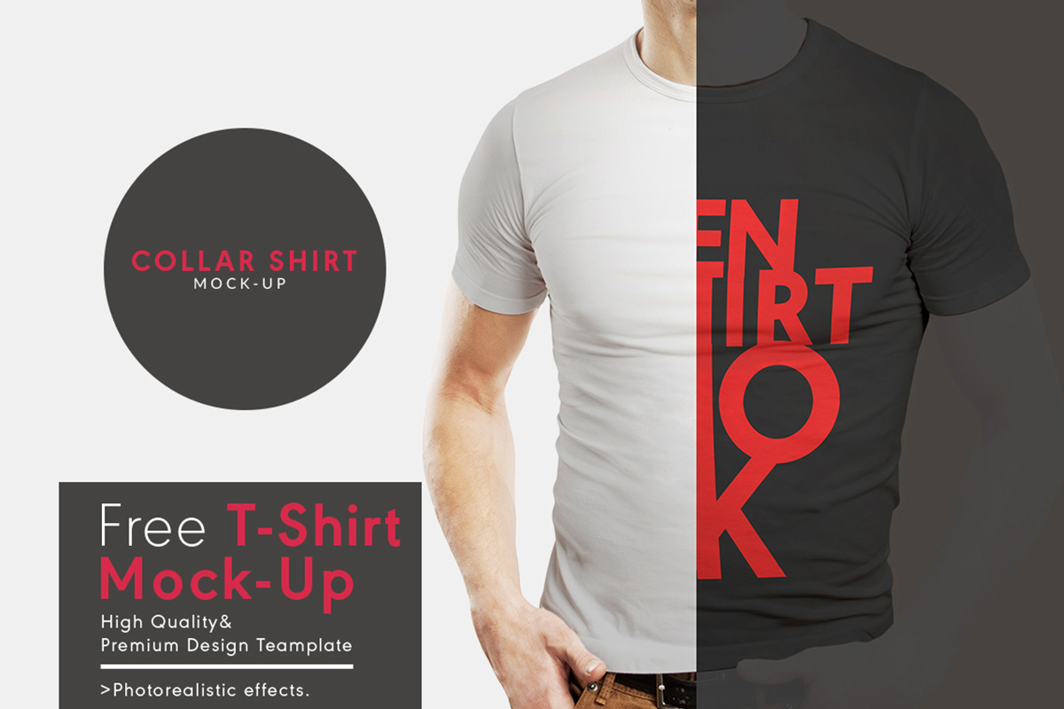 60 Best Free T-Shirt Mockup Templates That You Can Download