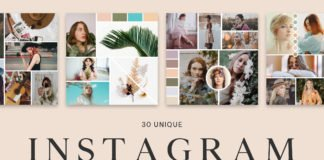 30 Free Instagram Mood Board Templates