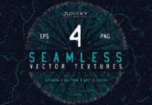 4 Free Seamless Vector Textures