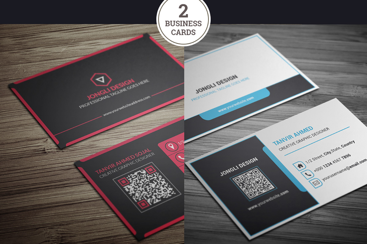 200 Free Business Cards Psd Templates Creativetacos