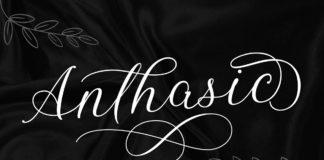 Free Anthasic Script Font