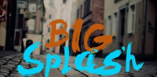 Free Big Splash Brush Font