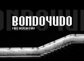 Free Bondoyudo Display Font