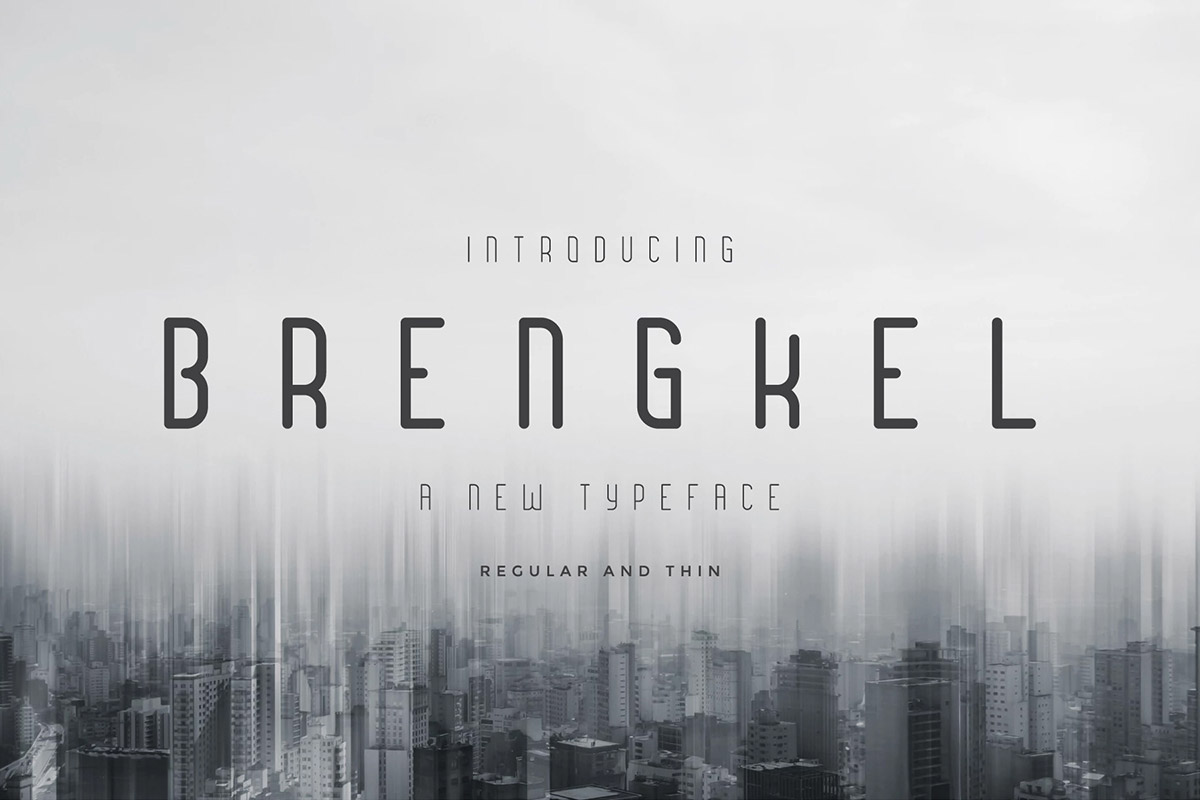 Free Brengkel Condensed Font