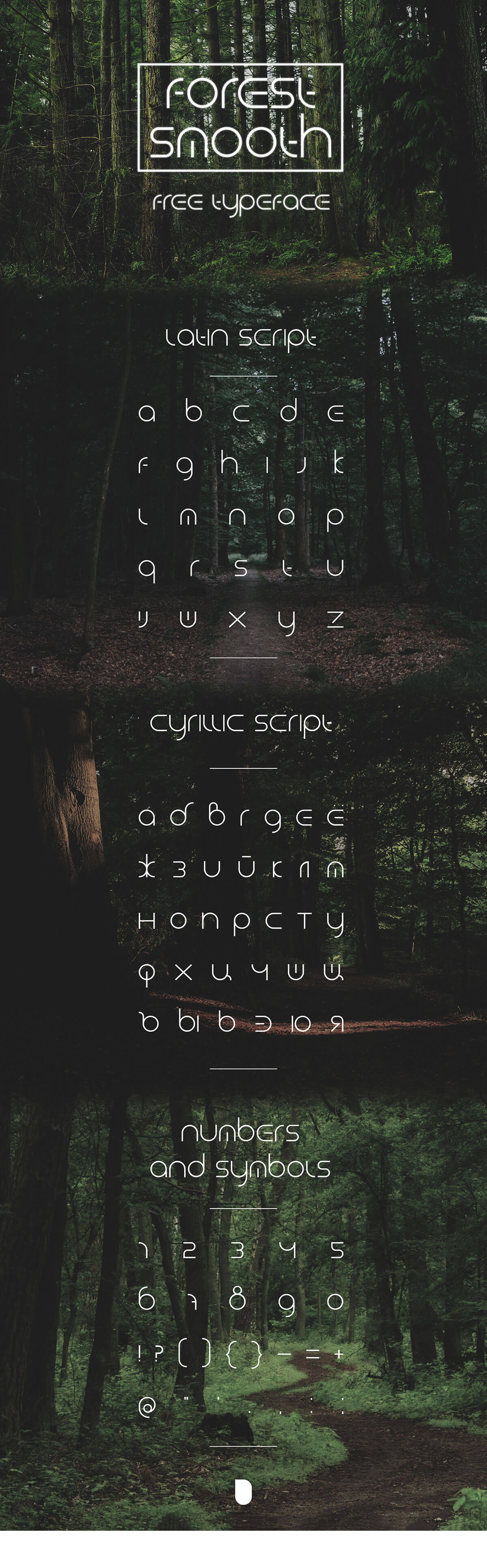 Free Forest Smooth Display Font