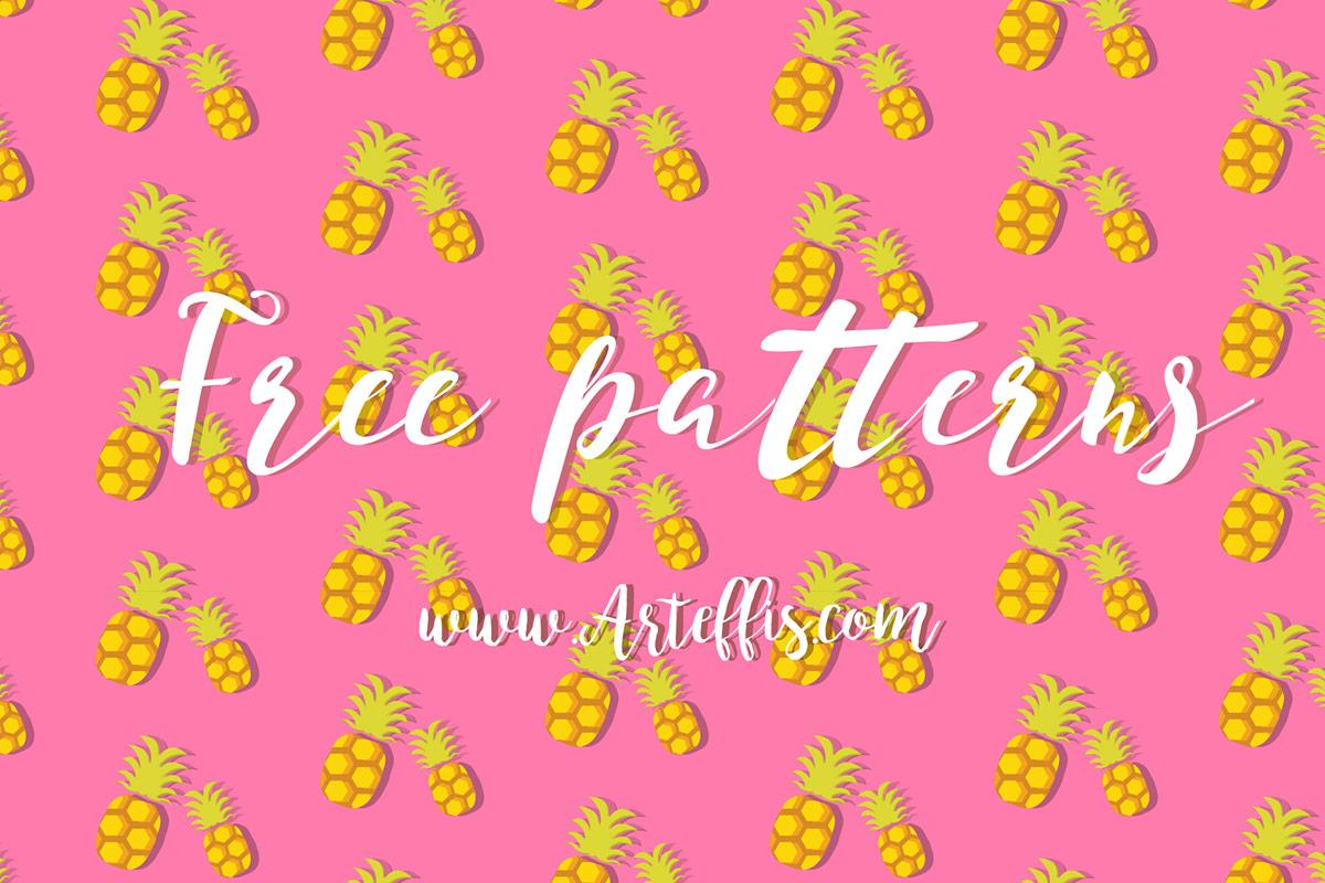Free Fruit Illustrator Patterns