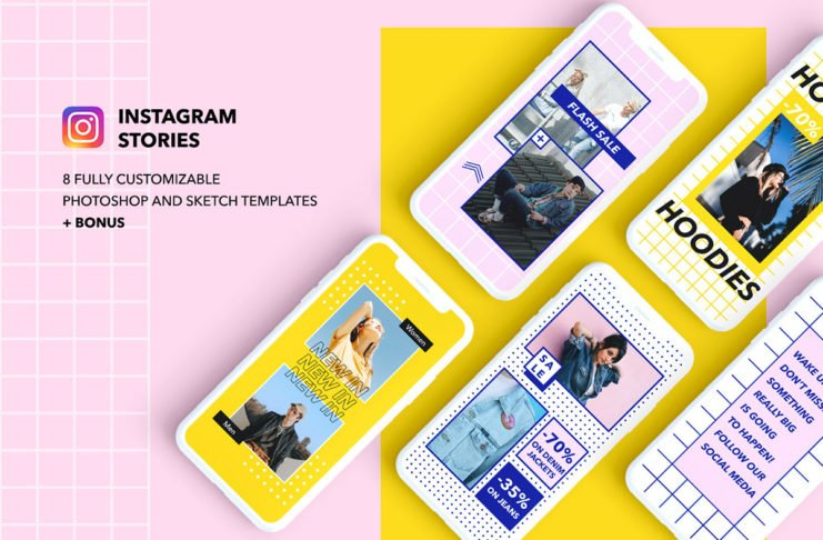 Free Instagram Stories Templates