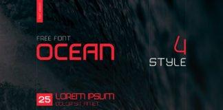 Free Ocean Sans Serif Font Family