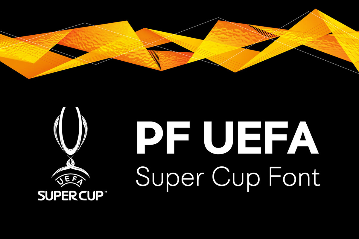 Free PF UEFA Super Cup Font