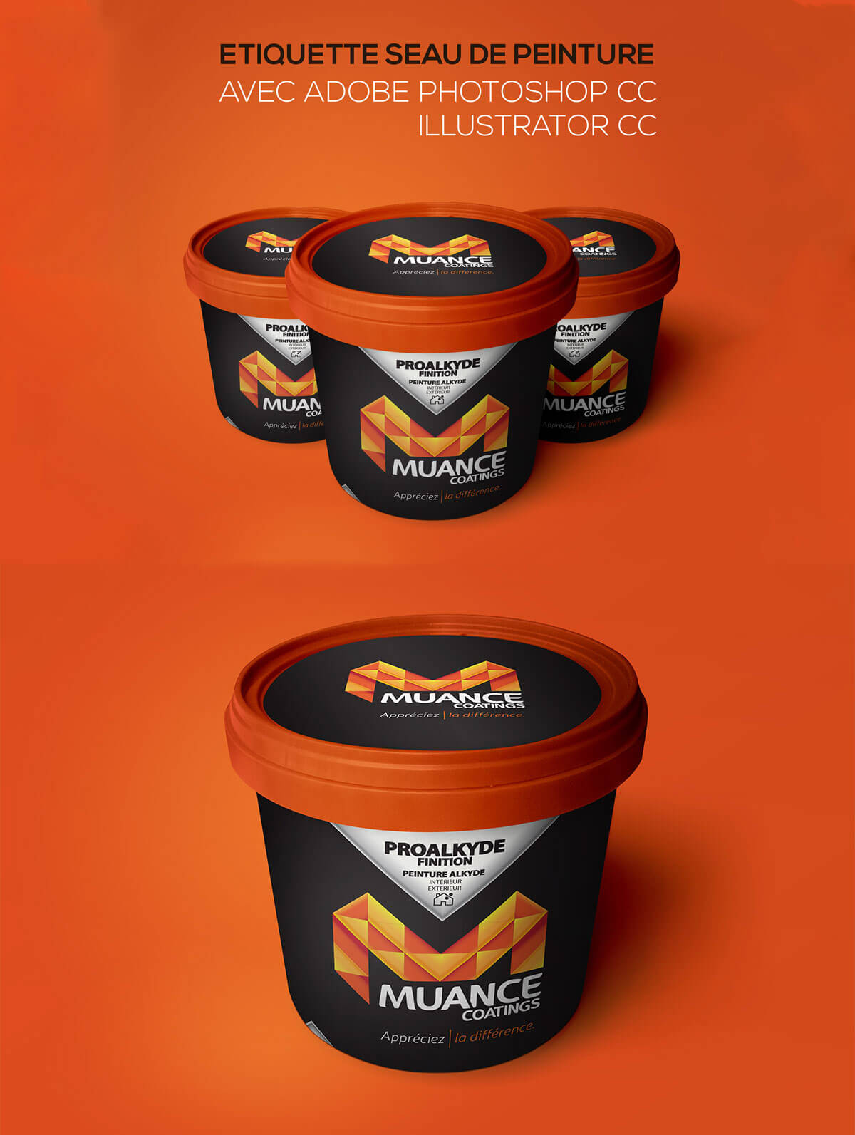 Free Plastic Container Packaging Mockup