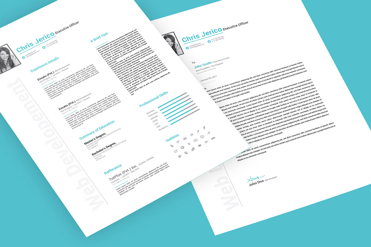 Free Professional Cover Letter