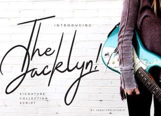 Free Jacklyn Signature Font