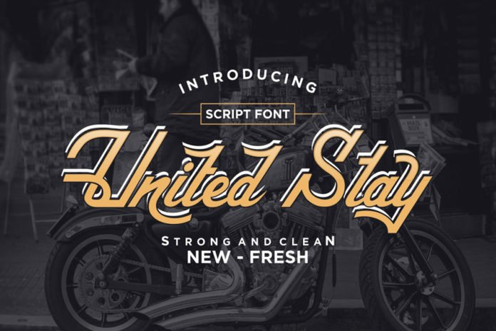 Free United Stay Script Font