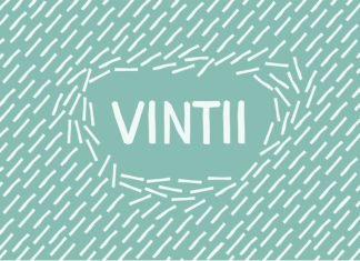 Free Vintii Display Font