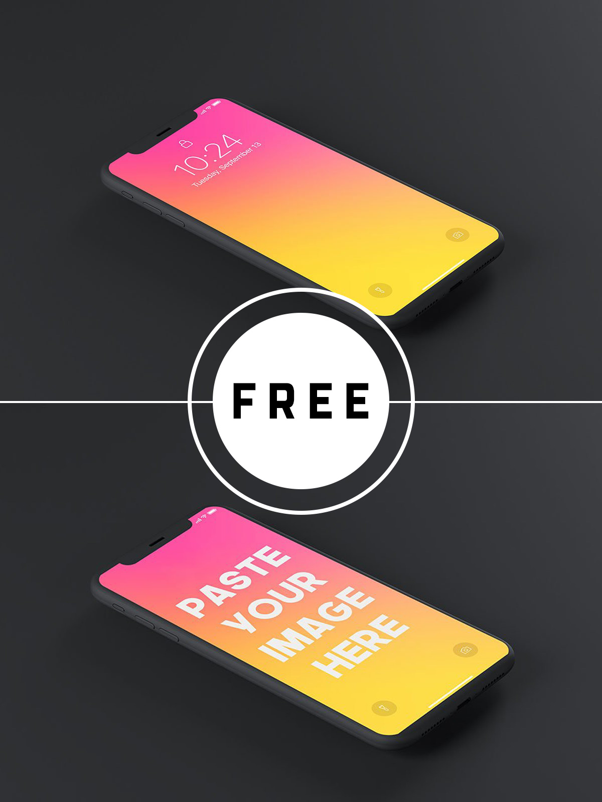 75 Best Free iPhone X, iPhone XS, iPhone XS Max & iPhone XR Mockup Templates & Resources