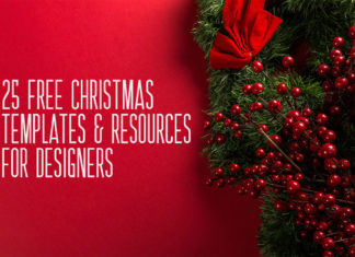 25 Free Christmas Templates & Resources for Designers
