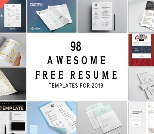 98 Awesome Free Resume Templates