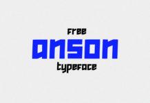 Free Anson Sans Serif Font