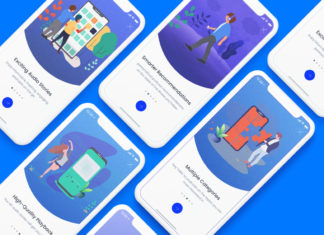 Free App Onboarding Walkthrough Screens Templates
