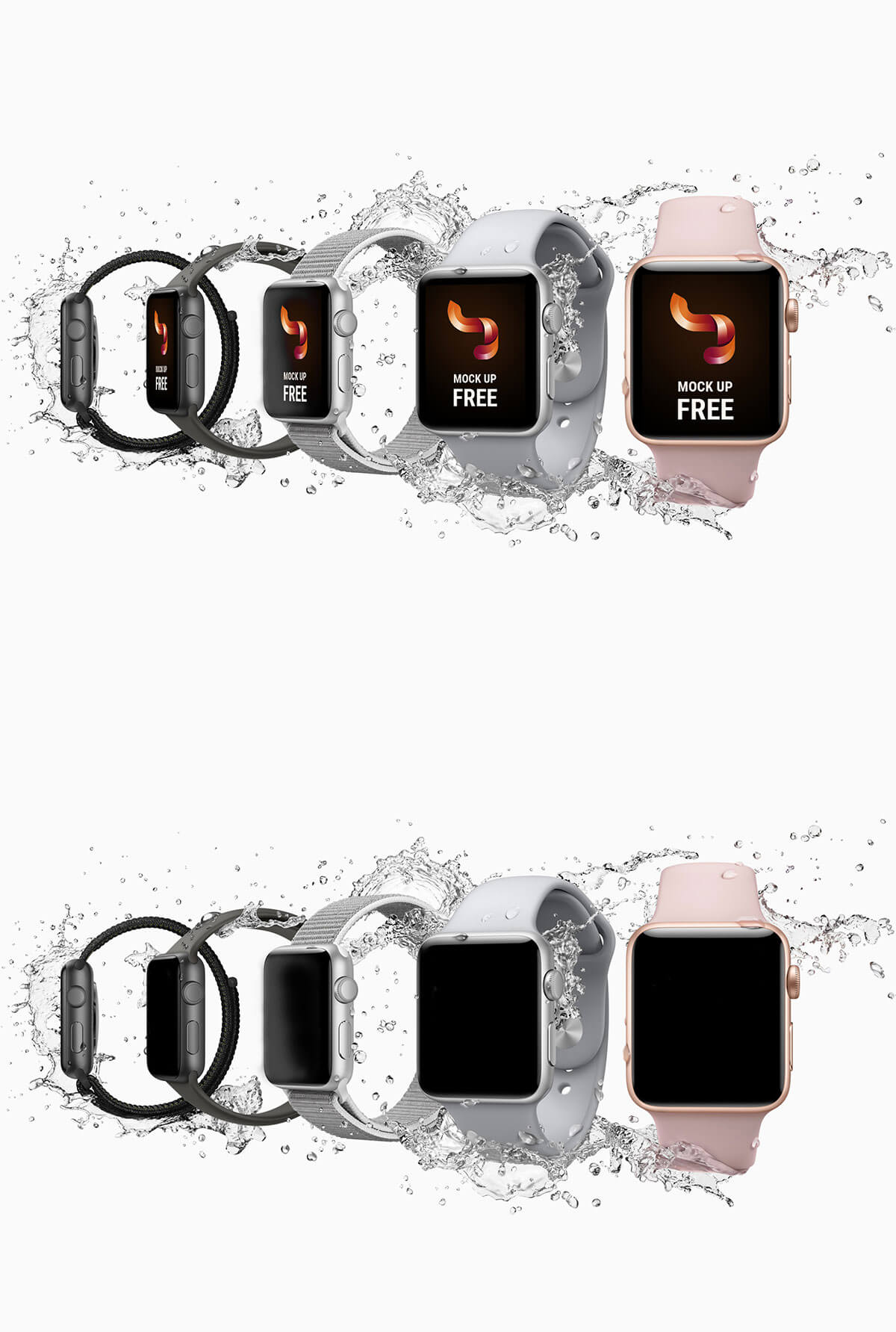 Free Apple Watch Mockup