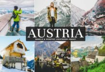 Free Austria Lightroom Preset