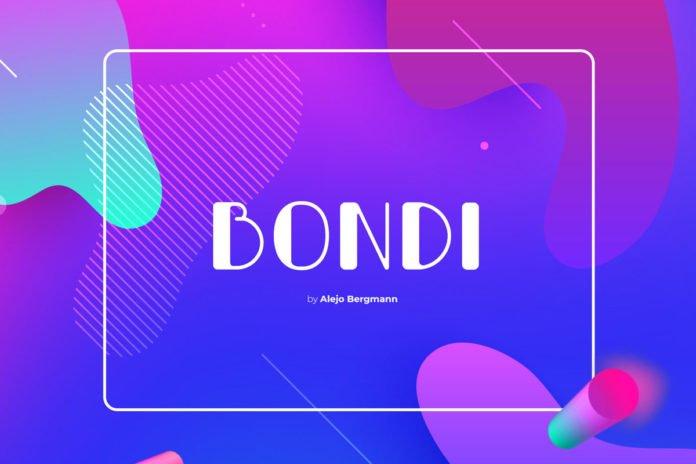 Free Bondi Display Font