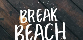 Free Break Beach Handmade Font