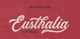Free Eusthlia Script Font