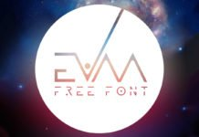 Free Evaa Galactic Display Font
