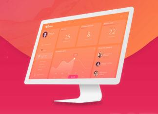 Free Fliminc Admin Dashboard PSD Template