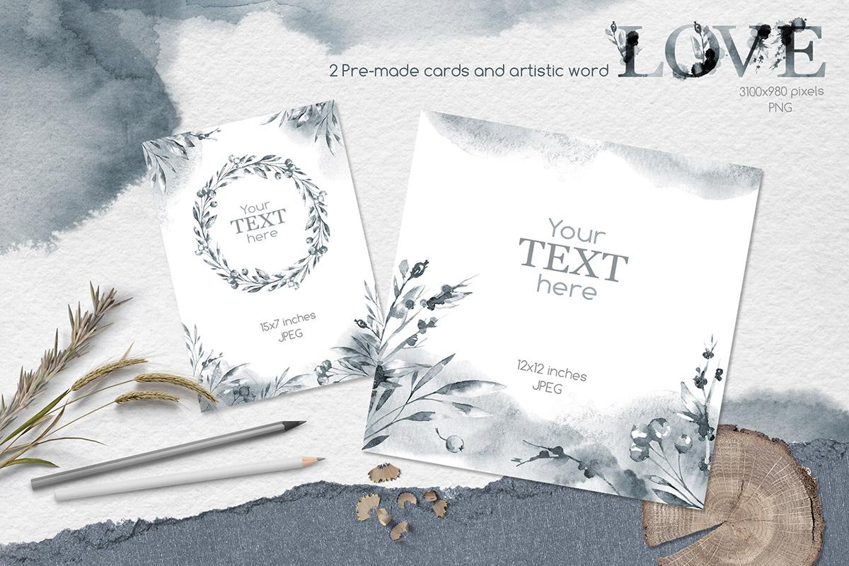 Free Invitation Cards PSD