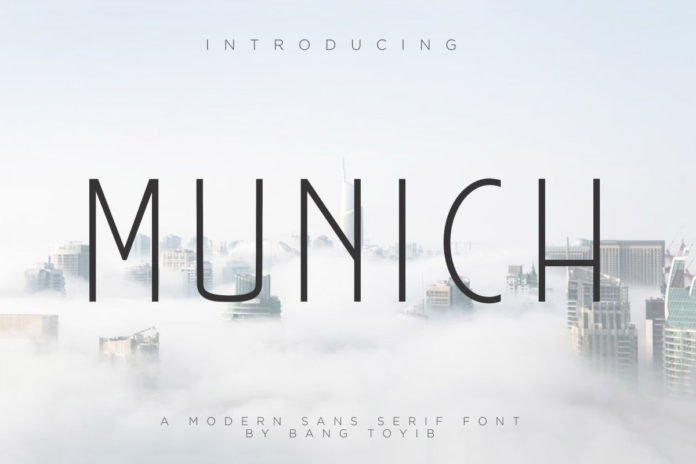Free Munich Sans Serif Font