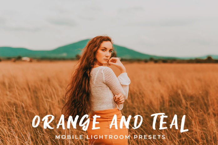 Free Orange and Teal Mobile Lightroom Presets