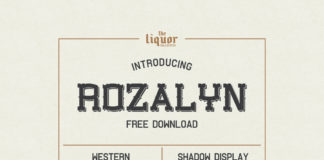 Free Rozalyn Decorative Display Font