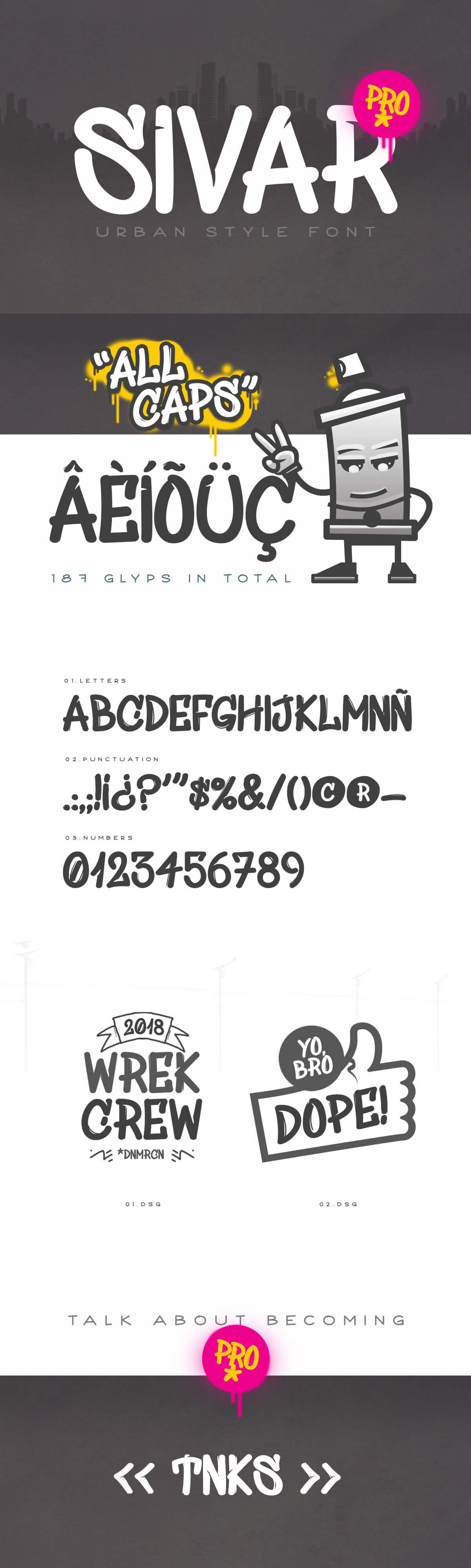 Free SivarPro Display Font