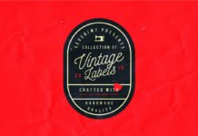 Free Vintage Label Template Kit