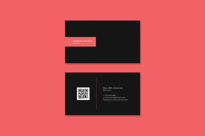 Free Visiting Card PSD Template