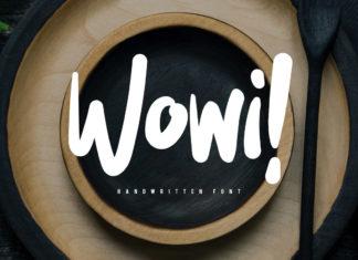 Free Wowi Brush Font