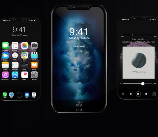 Free iPhone 8 PSD Mockup