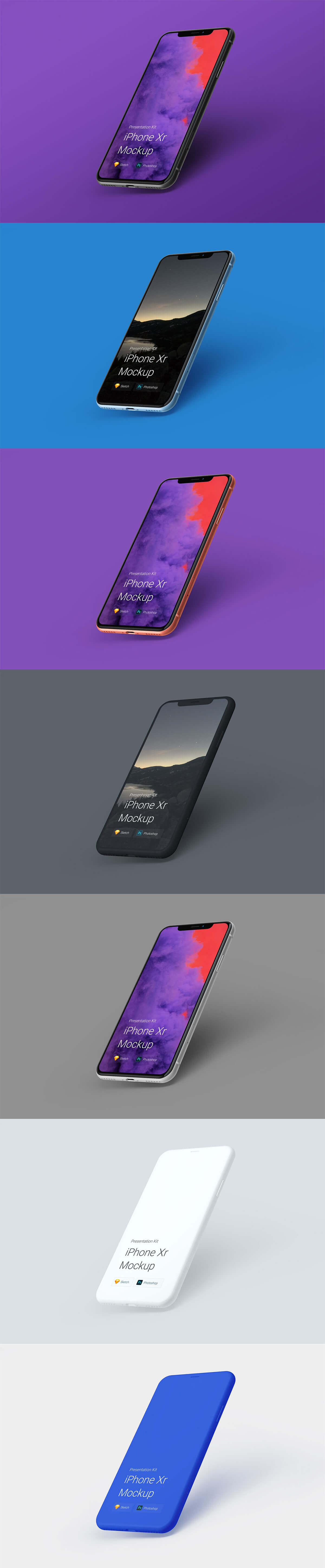 Free iPhone Xr Mockup