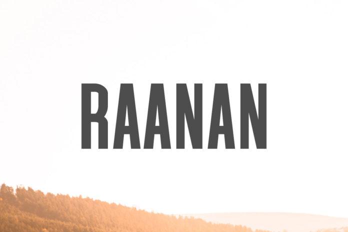 Free Raanan Sans Serif Font