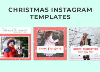 Free Christmas Instagram Templates