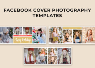 3 Free Christmas Facebook Cover Templates