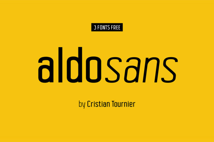 Free Aldo Sans Serif Font Family