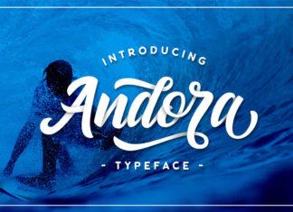 Free Andora Script Font
