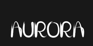Free Aurora Script Font