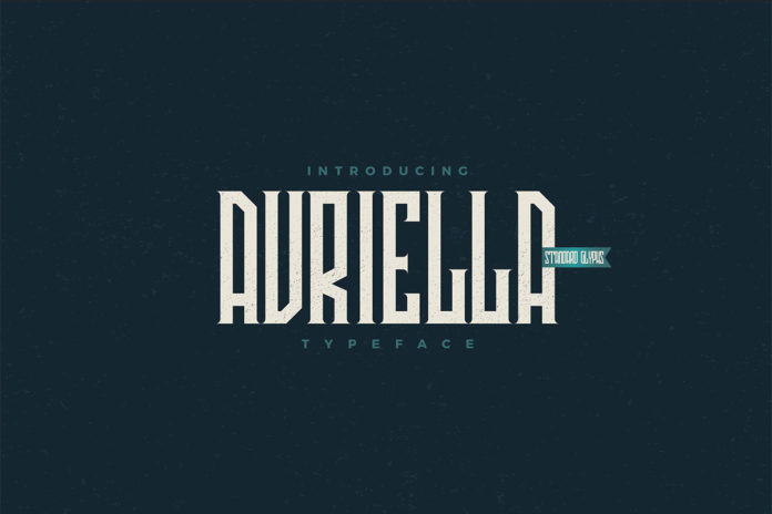 Free Avriella Display Font